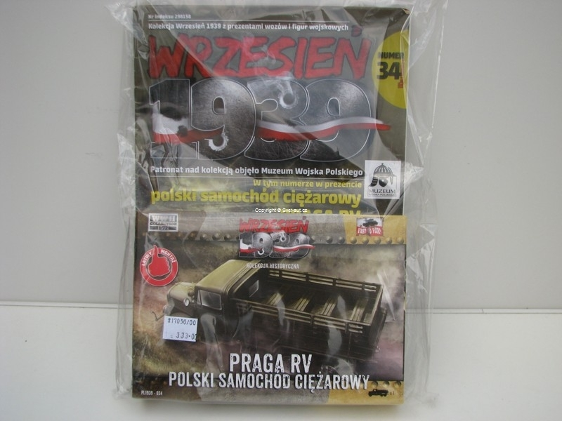 Praga RV 1:72 stavebnice WWH collection